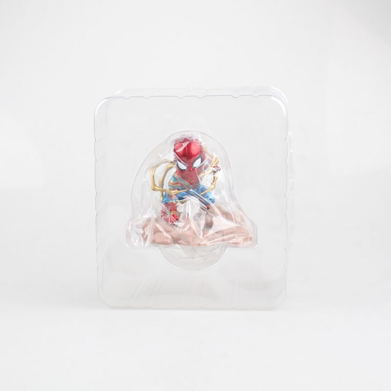 Spider Man Action toys figrue The Avengers 8cm cartoon model figures Spiderman collection toy gift PVC in Action Toy Figures from Toys Hobbies