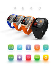 3Pcs/Lot, DHL Free X01 Android 4.4 2G/3G Smart Watch Phone 1.3GHZ MTK6572 Dual Core 4GB ROM 3MP Camera Pedometer Heart Rate