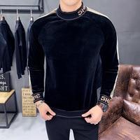 HIgh Fashion Velvet Sweatshirts 1