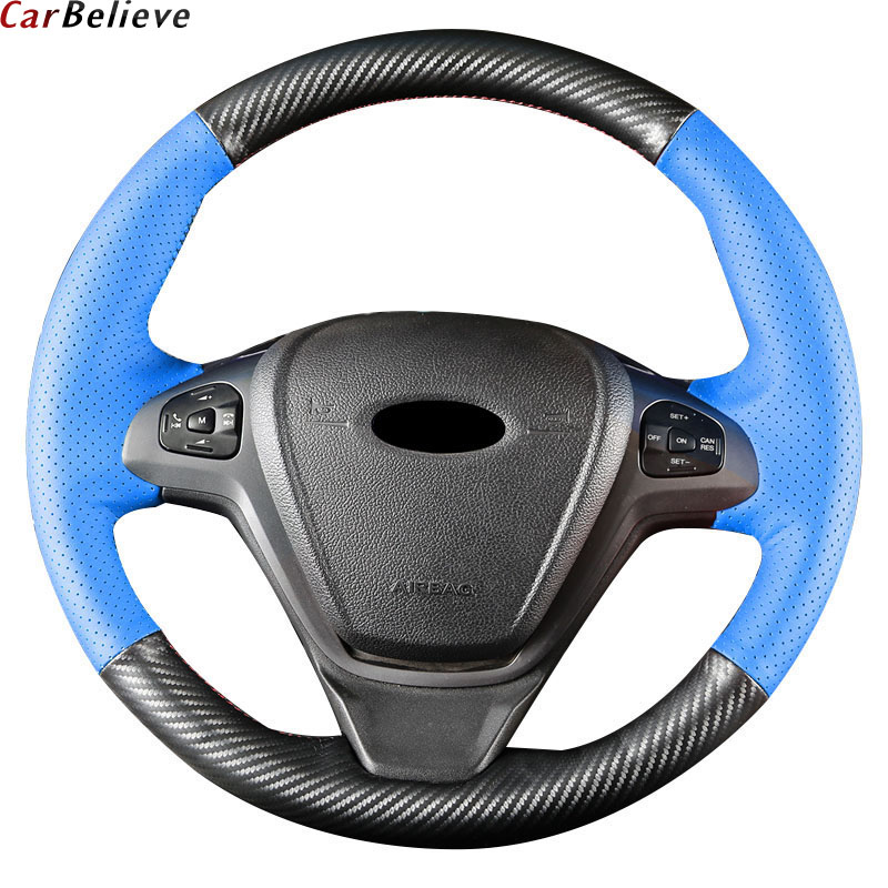Car Believe Genuine Leather car steering wheel cover For Volkswagen golf 4 golf 7 6 mk7 passat b5 polo 9n sedan steering wheel 2018 autumn new style genuine leather ankle boots pointed toe thick heel chelsea boots calf leather women boots ladies shoes
