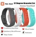 37 Degree 2nd 2S Bluetooth Smart Wristbands Bracelet Band Heart Rate Monitor Blood Pressure Fitness Tracker Wristband Passometer