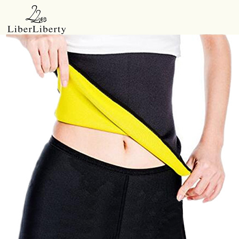 Women Neoprene Sweat Shapewear Waist Cinchers Training Modeling Belt Corset Exercise Gym Fitness Girdle Slimming Sport Underwear