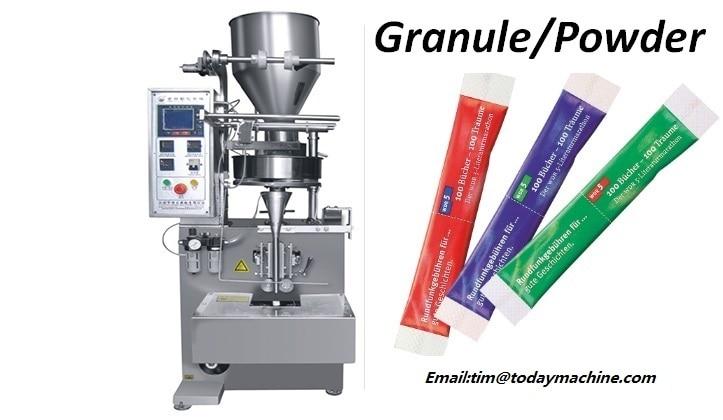 Automatic Vertical Filling Plastic Tea Bag Granule Packing Machine
