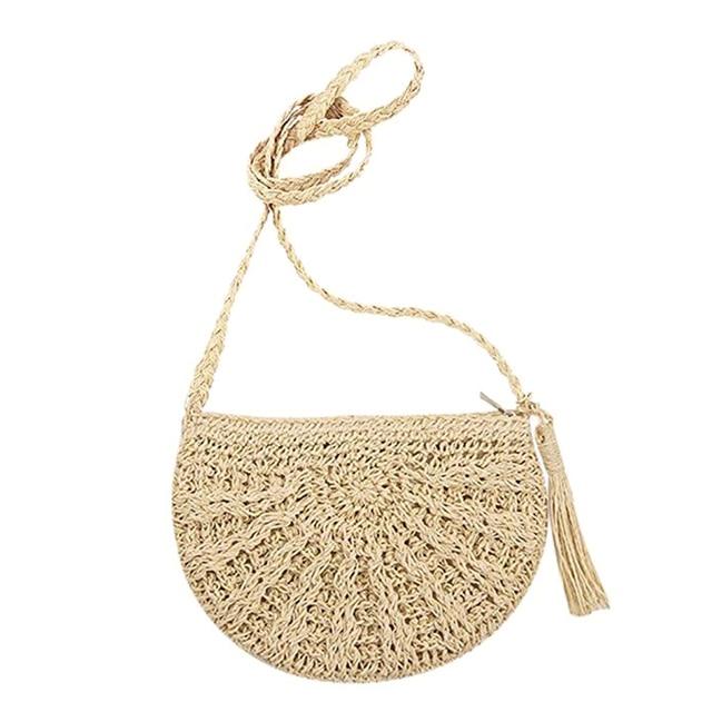 Beach Bag Vintage Woven...