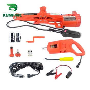 Portable 12V 13A Max.current  Car Jack 2Ton Electric Jack Auto Lift Scissor Jack Lifting Machinisms Lift Jack Muti Function