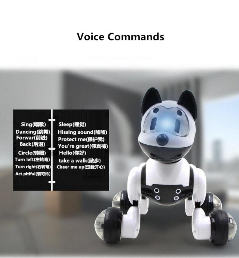 Dacing Frente Para Trás Etc. Comando de Voz