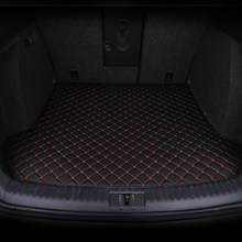 ETOATUO Custom car trunk mats for Ford all model focus explorer mondeo fiesta ecosport Everest s-max Mustang edge Tourneo kuga(China)