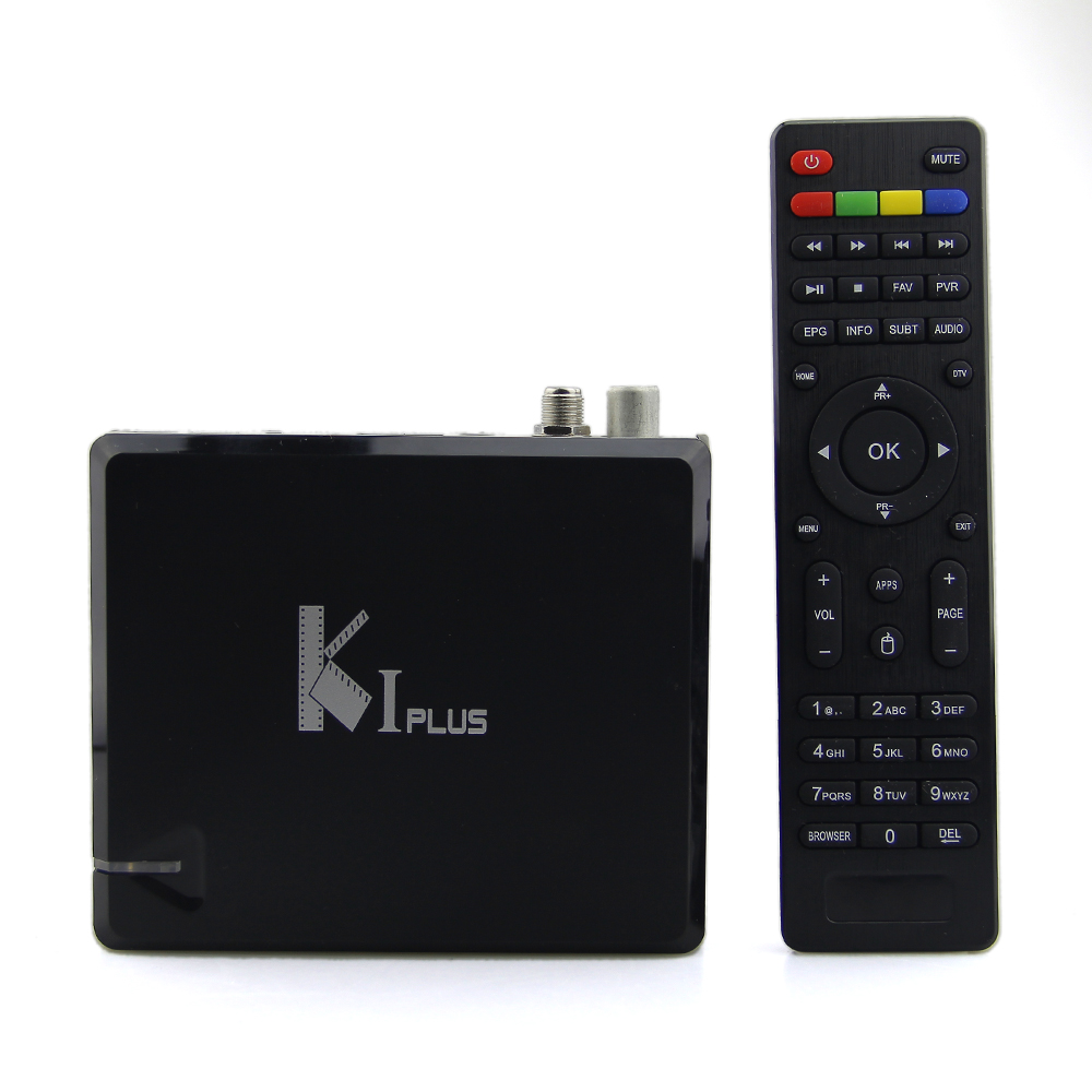 Mecool KI PLUS DVB-T2 DVB-S2 Android TV BOX Amlogic S905 Quad Core 1GB 8GB 64bit 4K 3D Wifi Media Player Support Miracast DLNA original k1 plus s2 t2 android 5 1 tv box amlogic s905 quad core 64bit support dvb t2 dvb s2 1g 8g 1080p 4k tv box support ccamd