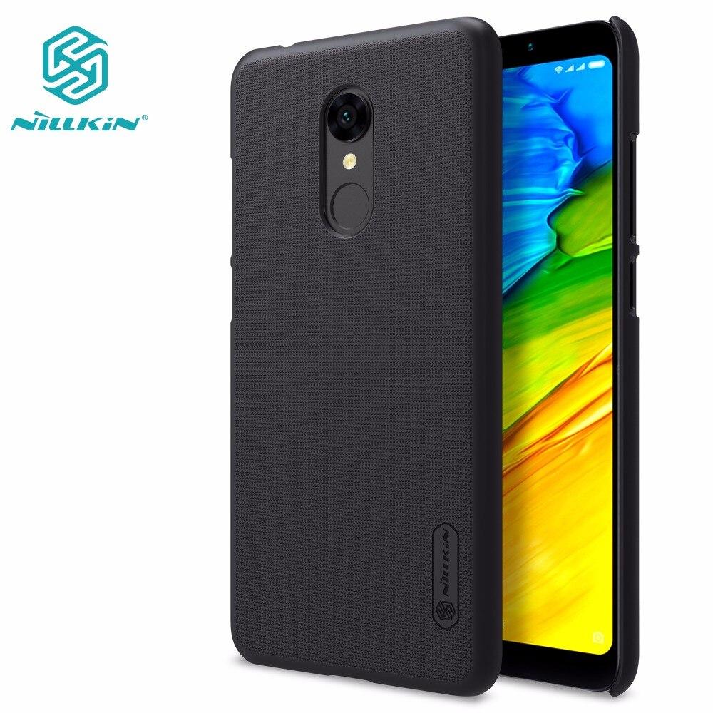 Xiaomi redmi 5 caso xiaomi redmi 4 pro prime/5 plus NILLKIN Super Frosted Shield duro opaco della copertura posteriore + protezione libera dello schermo