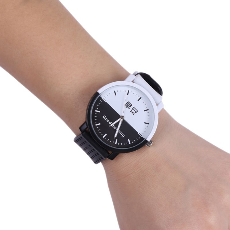 Lovers Quartz Wrist Watch Letter 'I'm Boy