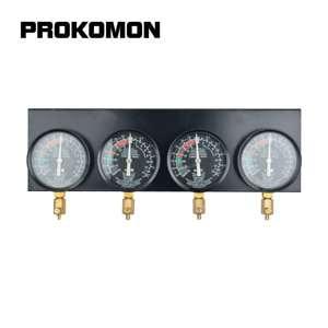 Image 3 - 연료 진공 기화기 동기화 Carb sync 4 게이지 진공 밸런서 게이지 오토바이 GS CB KZ XS 550 650 750 850