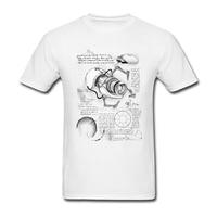 A.S.H.P.D T Áo Sơ Mi O-Cổ Bông Ngắn Tay Áo Khoa Học T-Shirts Cặp Vợ Chồng Mùa Hè Cộng Với Kích Thước Vui T Shirts