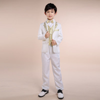 6pcs/set Boys Formal Suits for Wedding White Blazer Dress Suits for Boys Prom Suits Boys Blazers