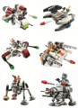 Звезды Wars Мстители Истребитель 6 шт./лот Строительные Блоки Модель Игрушки Совместимо С Legoe