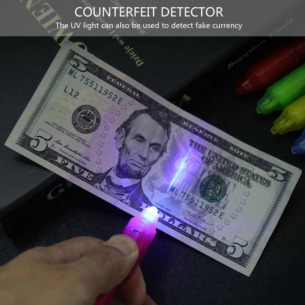 Многофункциональные Волшебные светодиодные фонари Yanchao Невидимая ручка УФ фонарик Низкая цена Акция Прямая доставка