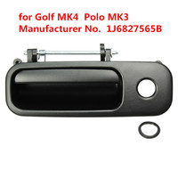 Rear Tailgate Boot Luggage Exterior Door Handle for Volkswagen VW Golf MK4 Polo MK3 Back Outside Out Trunk Lock Black 1J6827565B