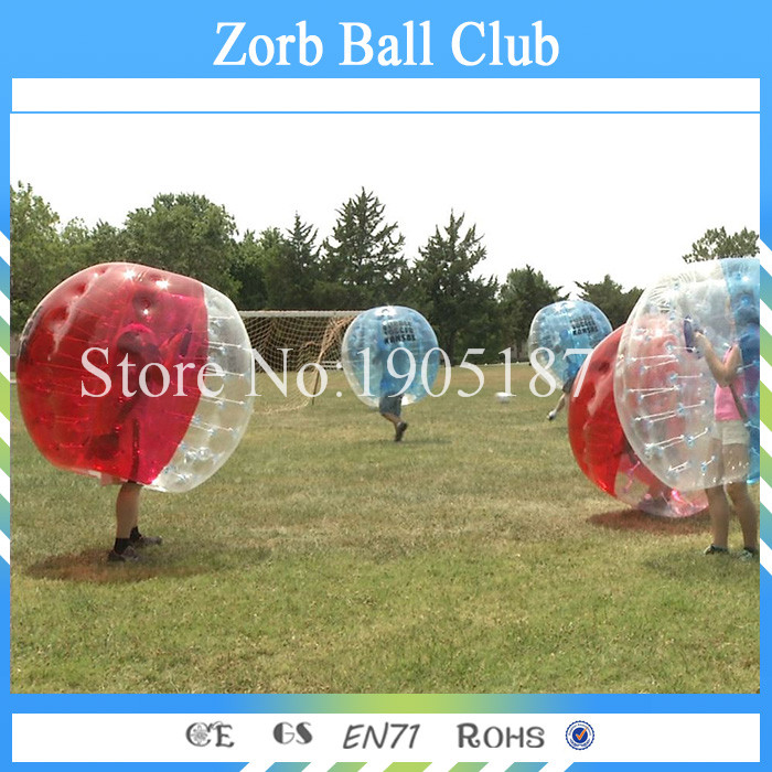 Free Shipping Full Color TPU Adult Bubble Soccer 1.5m, Body Zorb Ball, Human Bubble Football