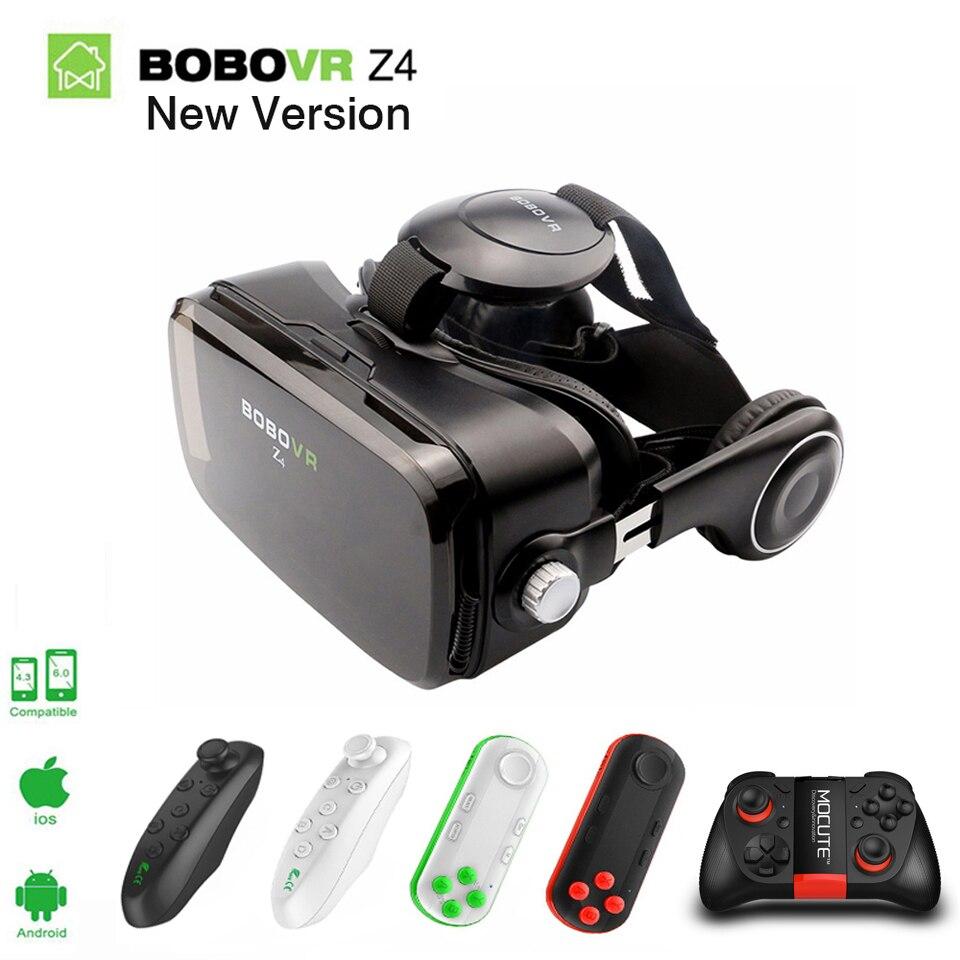 Original <font><b>Xiaozhai</b></font> <font><b>BOBOVR</b></font> Z4 Google Cardboard <font><b>Virtual</b></font> <font><b>Reality</b></font> 3D VR <font><b>Glasses</b></font> <font><b>Private</b></font> Box Mini Theater+Gamepad for smartphone 2.0