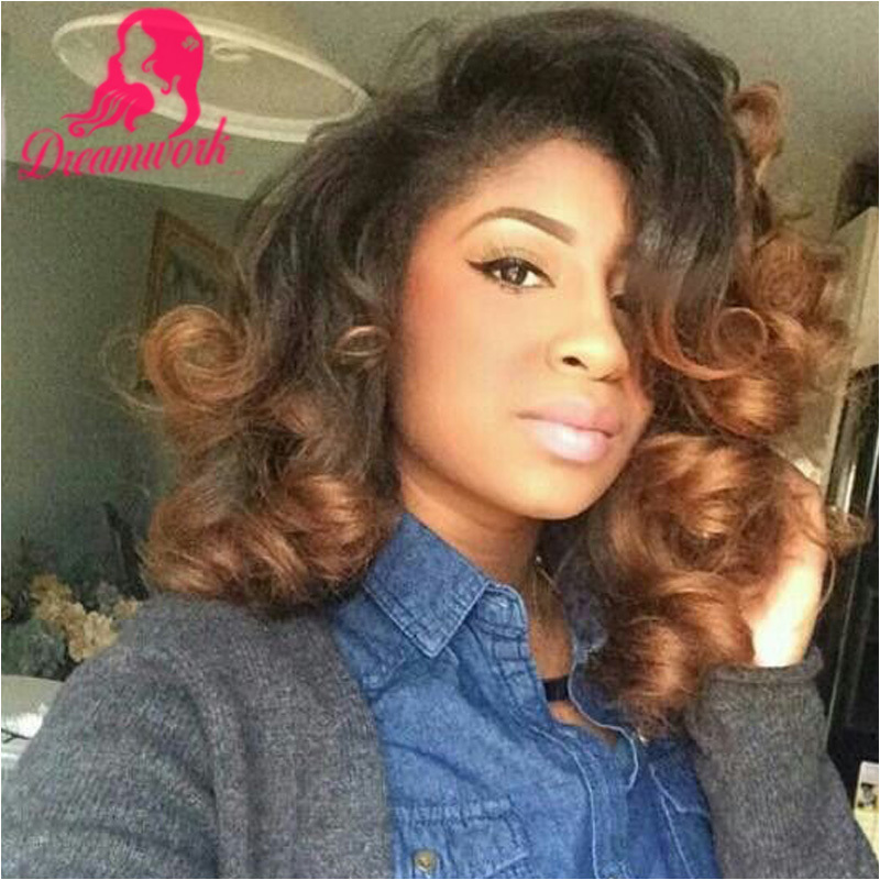 Malaysian Body Wave Lace Front Wig With Baby Hair Bleached