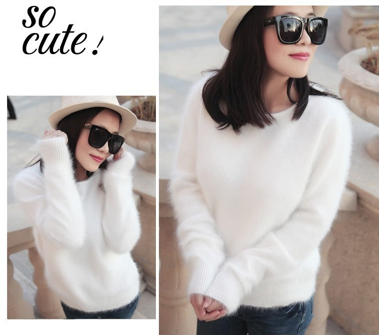 100 Mink Cashmere Sweater Women Sweaters And Pullovers Pure Mink Cashmere Knitted Pullover Ladies Sweater Free