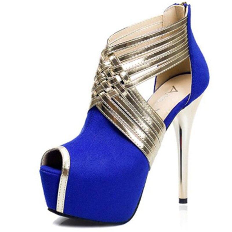 2018 Rosa Correa Tacones Tobillo Plataforma De Sandalias Zapatos jVUpGLqzMS