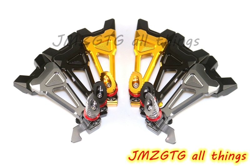 CNC Rear Foot Rest For YAMAHA R6 2008 2009 2010 2011 2012 2013 2014 2015 2016