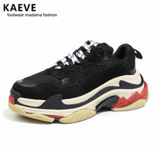 KAEVE 2017 Hot Sneakers For Male Lace Up Men Trainers Platform Casual Shoes Mens Jogging Flats Fashion Chaussure Hommes Footwear
