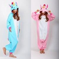 New Adult Animal Sleepsuit Pyjamas Jumpsuits Rompers Pajamas Costume Cosplay Unicorn Onesie Free Shipping