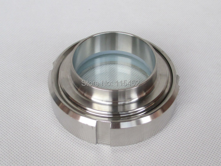 Quot mm stainless steel threaded removable weld on