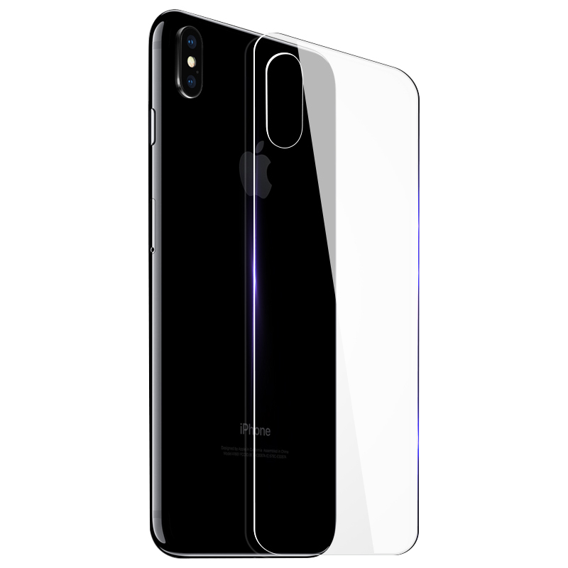 Image 5 - 0.3mm 9H 2.5D Tempered Glass for iPhone X Xr Xs Max 7 Plus screen protector iphone 6 6S 7 8 Plus front and back Protective Film-in Phone Screen Protectors from Cellphones & Telecommunications