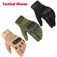 Outdoor Sport Tactical Gloves Military Army Airsoft Shooting Hunting Full Finger For Climbing Hiking Cycling 3 Colors