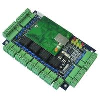 TCP IP Four Door Access Control 32 Bit ARM Cpu Web Access Control Support B S