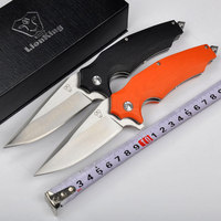 High Quality Survival Knives 8Cr18Mov Blade G10 Handle Folding Knife Utility Tactical Camping Knife Outdoor Tools