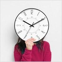 Geekcook Wall Clocks Simple And Beautiful Vintage Clock Mute Home Bedroom Trend Art Clock Wall For Bedroom Living Room