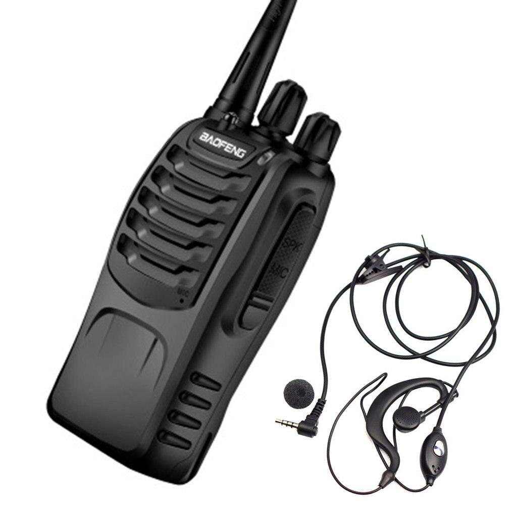 BAOFENG Portable Walkie Talkie UHF 400-470MHz 16CH BF-888S Two-Way Radio 5 Kilometers