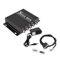 XVGA Box RGB RGBS RGBHV MDA CGA EGA To VGA Industrial Monitor Video Converter With US