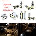 17 unids LED Canbus Luces Interiores Paquete Kit Para Porsche Cayenne 955 (2002-2010)