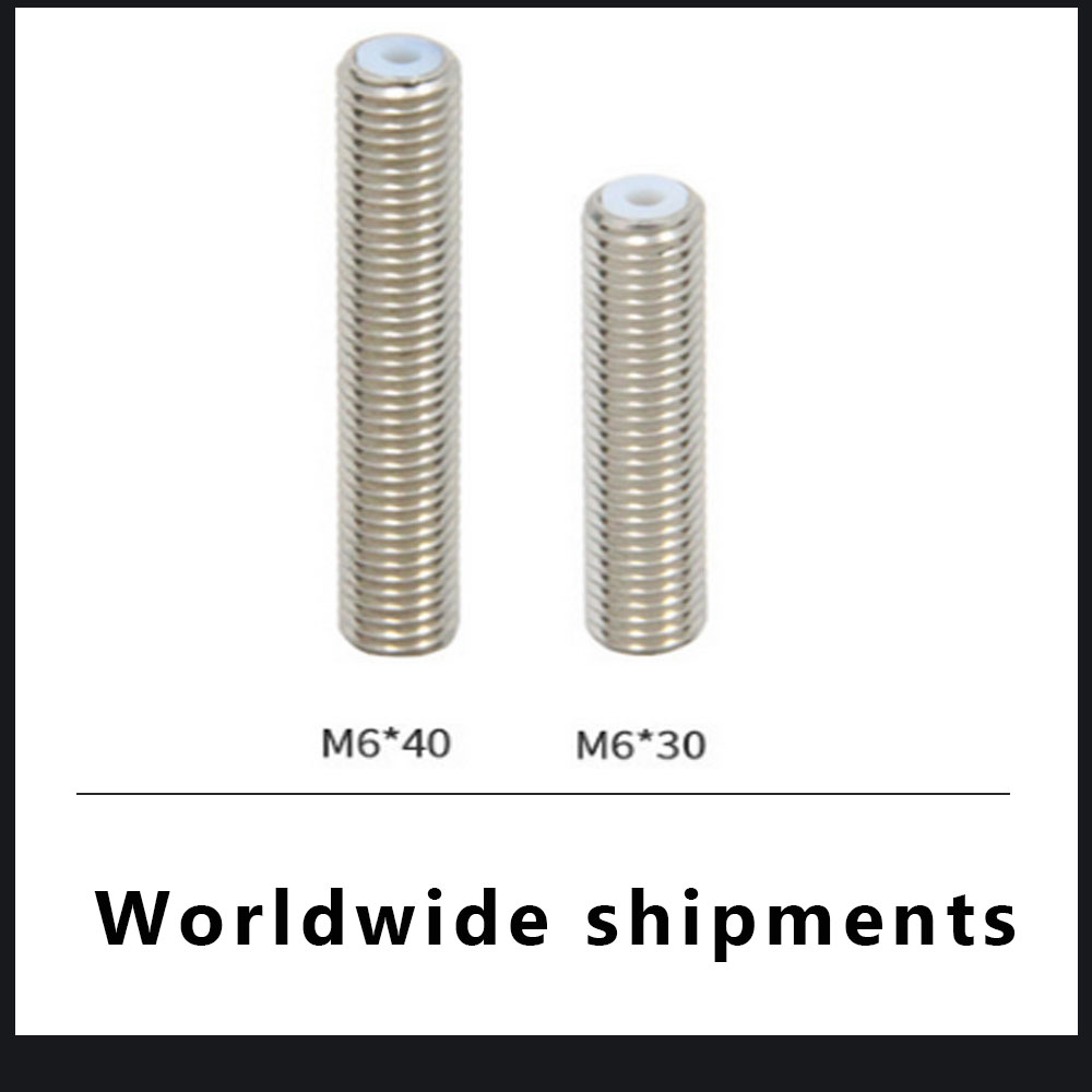 Hot End Makerbot Tubes Nozzle Throat Stainless Steel Pipe 3D Printer Parts