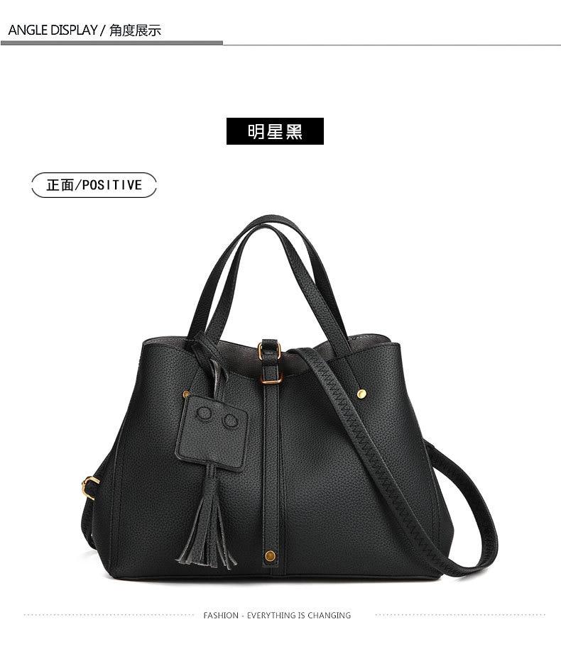 c3bd7b870af4 spring Ladies bag 2018 new fashion handbags imported PU female soft single  shoulder bag women messenger Satchel