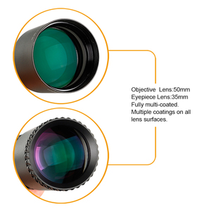 Image 4 - Ohhunt LR 2 16x50 SFIR التكتيكية Riflescope Mil dot الأحمر مضيئة مشاهد البصرية الجانب المنظر برج قفل صفر إعادة تعيين نطاق