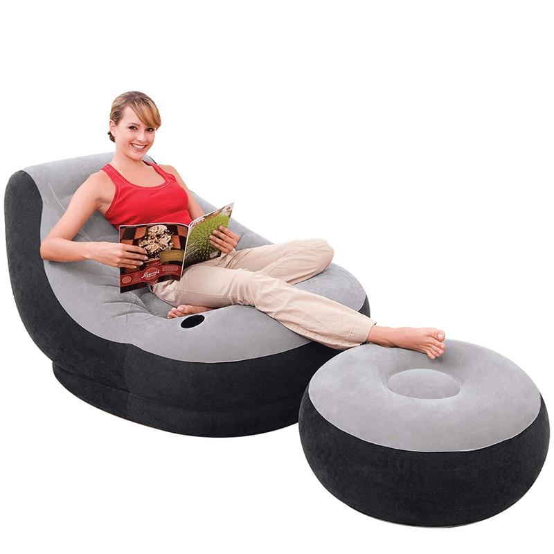 Galleria fotografica Mobili Home Set Puff Asiento Copridivano Divano Couch Mueble De Sala Couches For Living Room Furniture Mobilya Inflatable <font><b>Sofa</b></font>