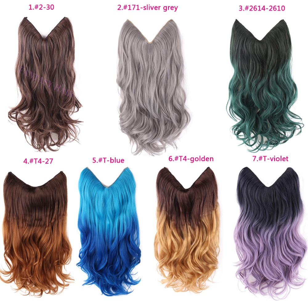 20 multi color fish line hair no clips hair extension brazilian 20 multi color fish line hair no clips hair extension brazilian natural wave invisible halo synthetic hair extension flip in on aliexpress alibaba pmusecretfo Choice Image