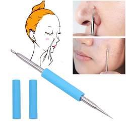 BearPaw Acne Remover игла 1 шт. для лица инструмент для удаления акне и прыщей инструмент для удаления угрей Comedone pimple Remover Нержавеющая сталь