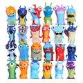 24 pçs/set Anime Brinquedos Dos Desenhos Animados Slugterra Figuras de Ação PVC Mini Toys Dolls Criança DSFG253