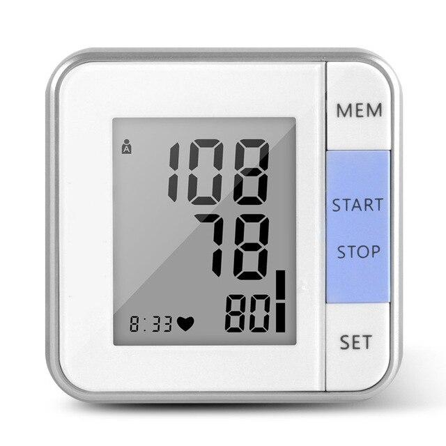Cigii 1 PCS Heartbeat test Heart rate monitor Smart digital display bracelet Healyh Care Wrist blood pressure Monitor 1