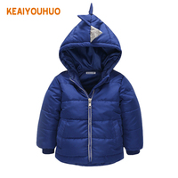 Baby Boy Coat Children Outerwear Coat Pure Color Boy Jacket Baby Girls Coat Warm Hooded Children