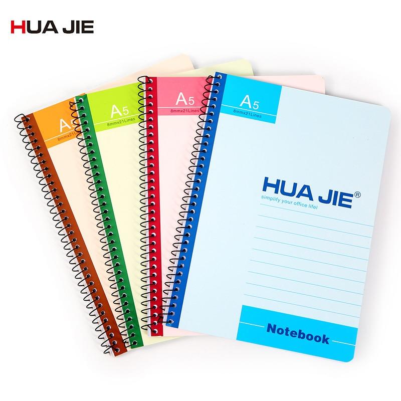 Spiral Notebook Simple Soft Student Notebook Sketch Notebook Office School Supplies A5/B5 Weekly Plan Diary Notebook PR1021