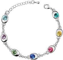 7 beadstars глаза с украшением в виде кристаллов браслеты ювелирные