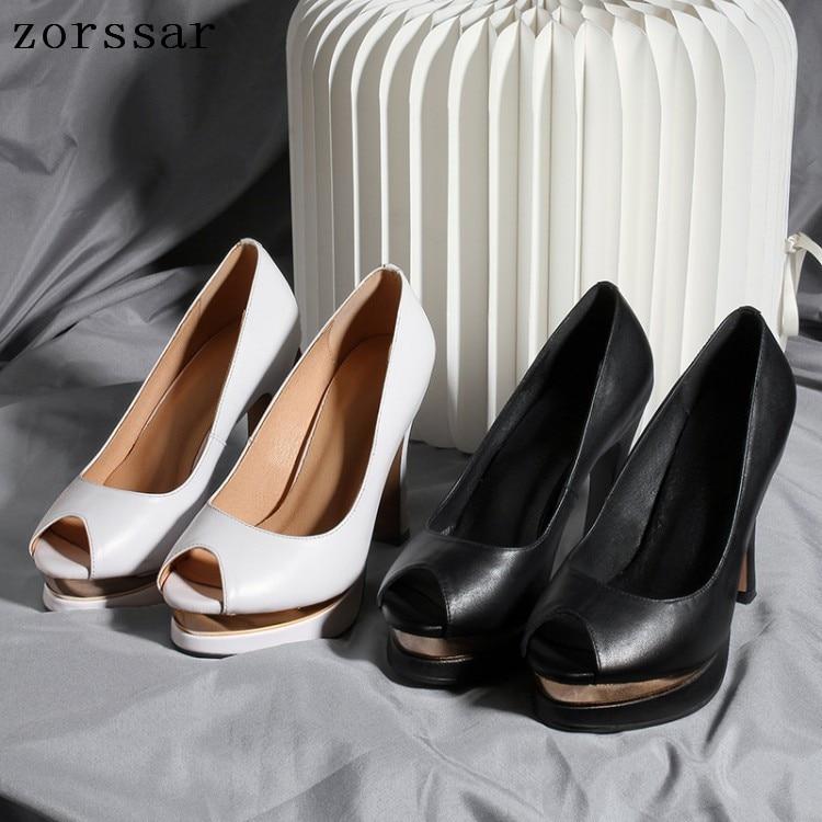 Zorssar Female shoes summer Sexy women pumps