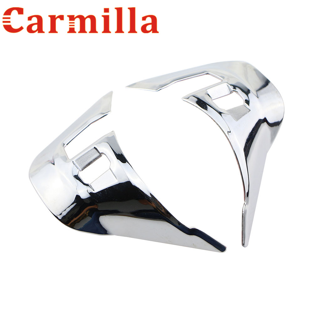 Carmilla ABS Car Steering Wheel Protector Cover Trim Sticker For Peugeot 208 2008 2013 - 2017 Car Accessories Car Stickers куплю подшипник 6 208 б1
